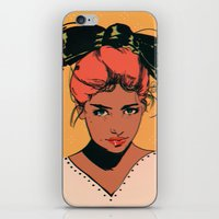 bow iPhone & iPod Skins featuring bow by Galvanise The Dog