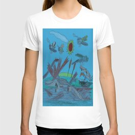 African Dwarf Crocodile & Friends T-shirt