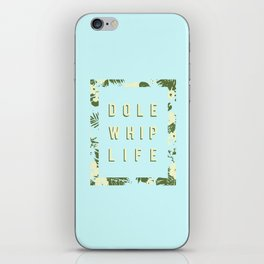 Dole Whip (small mint) iPhone Skin