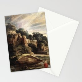 Peter Paul Rubens - Landscape with Ruins on Palatine Hill Stationery Cards