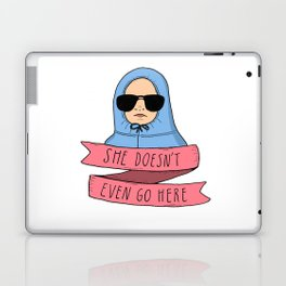 Mean Girls - She doesn't even go here Laptop & iPad Skin