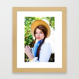 Lolita Summer Framed Art Print