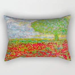 I blossomed... just because I can Rectangular Pillow