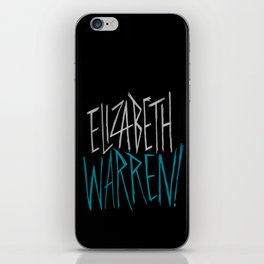 Elizabeth Warren! iPhone Skin