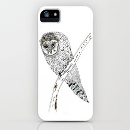 The queen of the night iPhone Case
