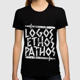 Logos Ethos Pathos Gift T-shirt