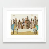montreal Framed Art Prints featuring montreal by bri.buckley