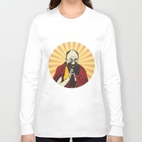lama Long Sleeve T-shirts featuring Dalai Lama by ArDem