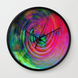 Colorful galaxy Wall Clock
