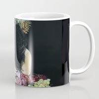 serenity Mugs featuring Serenity by Melissa Hartley