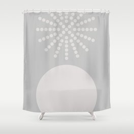 Geometric Form No.6 Shower Curtain