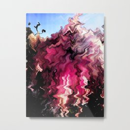 Wave Of Emotion Metal Print