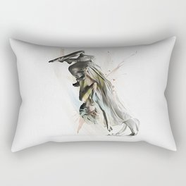 Drift Contemporary Dance Two Rectangular Pillow