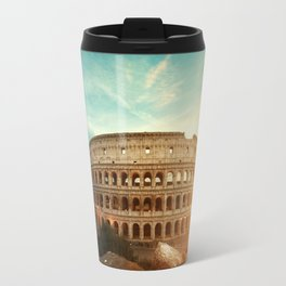 Colosseum Amphitheatre Rome Italy Travel Mug