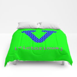 #V [victorious] Comforters