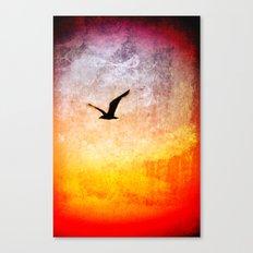 Flight at Dawn Canvas Print