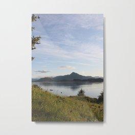 Kashevaroff Mountain Photography Print Metal Print