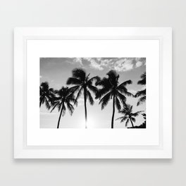 Hawaiian Palms II Framed Art Print