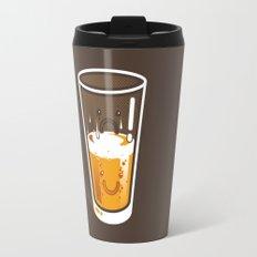 Pessimistic Optimist - alt version Travel Mug