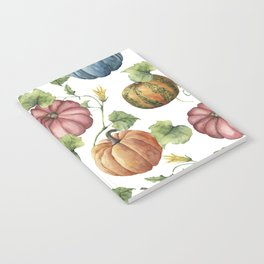 PUMPKINS WATERCOLOR Notebook