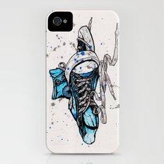 Blue Chucks Slim Case iPhone (4, 4s)