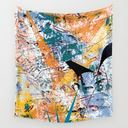 Lassoing Ghosts Wall Tapestry