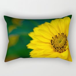 Yellow Daisy - Flower Photography Rectangular Pillow
