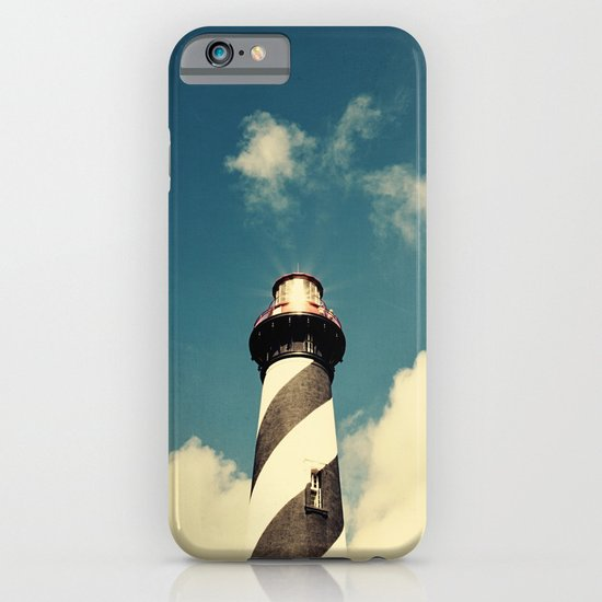 Lighthouse in the Sky iPhone & iPod Case
