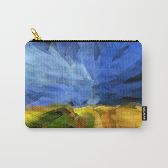Wheat Field, Storm Approaching Carry-All Pouch