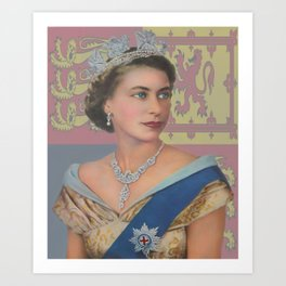 """The  Queen"" Art Print"