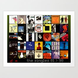 Depeche Art Print