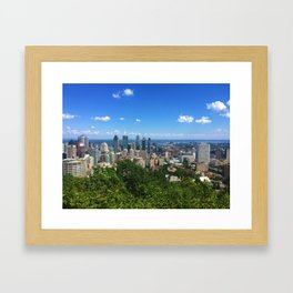 montreal • photography Framed Art Print