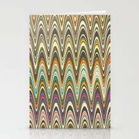 swag Stationery Cards featuring Swag stripe by Shelly Bremmer