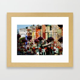 China Town, San Francisco, CA Framed Art Print