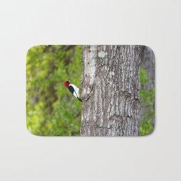 Red Head Bird Bath Mat