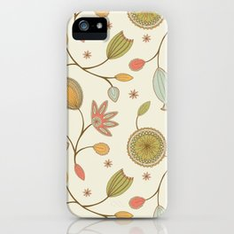 Mehndi Flower iPhone Case