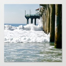 Manhattan Beach Pier Canvas Print