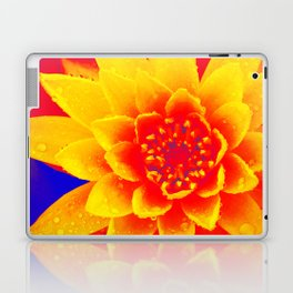 Water Lily of Primary Colors Laptop & iPad Skin