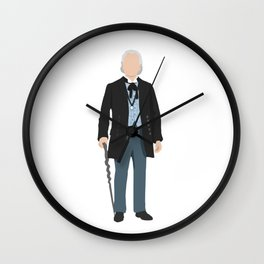 First Doctor Wall Clock