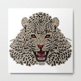 cat metallizer Metal Print