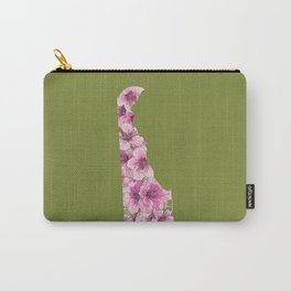 Delaware in Flowers Carry-All Pouch