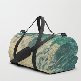 Rapids at the Upper Reaches of Tone River Vintage Beautiful Japanese Woodblock Print Hiroshi Yoshida Duffle Bag