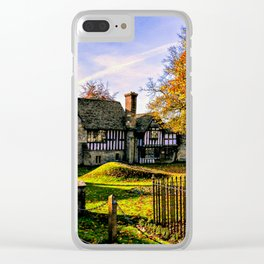 Almonry in Autumn Clear iPhone Case