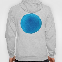 Watercolor blue dots Hoody