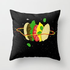 Planetary Discovery 8932: Cheeseburger Throw Pillow