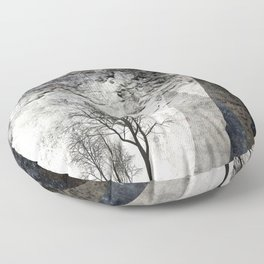 TREES besides MAGIC MOUNTAINS I Floor Pillow