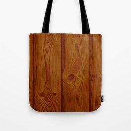 Deep Reddish Wood Pattern Tote Bag