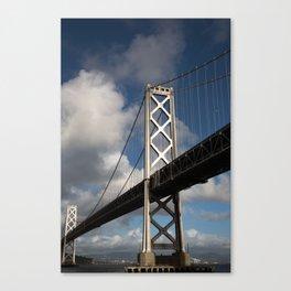 Bay Bridge in the Sun Canvas Print