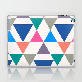 Colorful Repeat Triangles  Laptop & iPad Skin