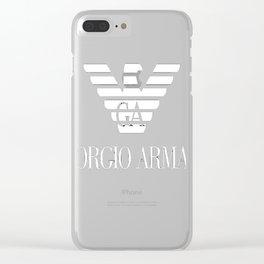 Giorgio Armani New Design Clear iPhone Case